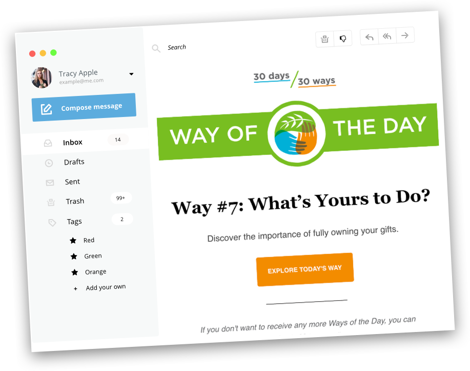 30 Days 30 Ways Email